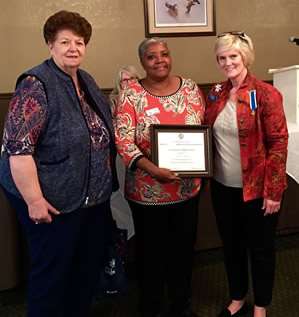 Thomasville DAR award