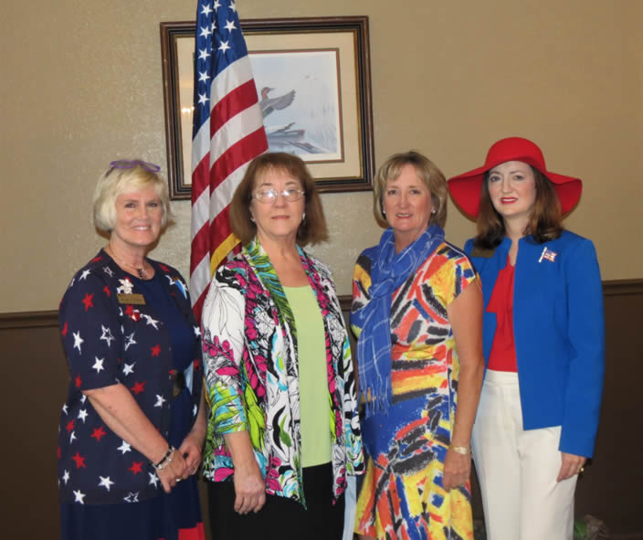 Thomasville NSDAR new member induction